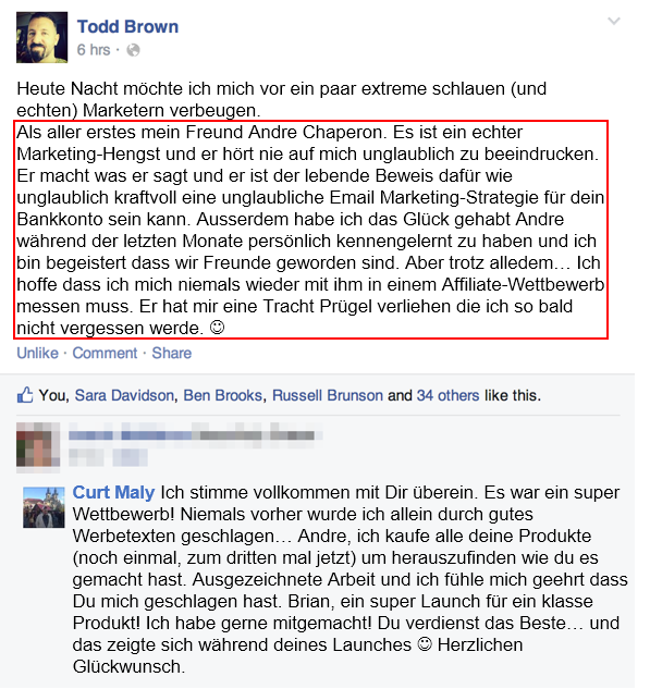 kudos todd deutsch